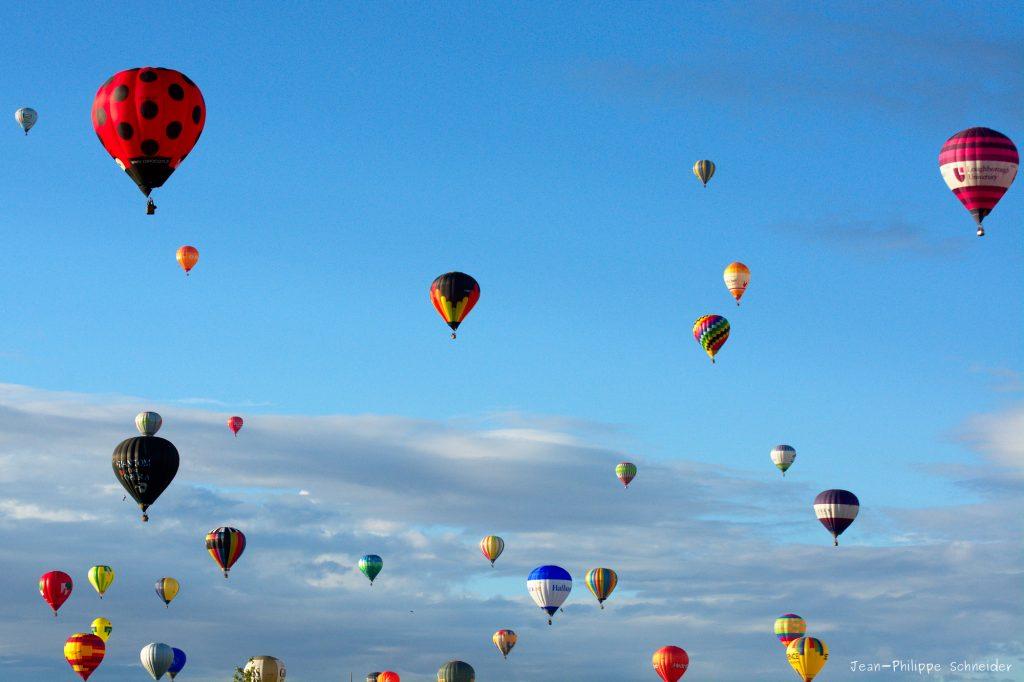 Mondial Air Ballons 2017 à l'Aérodrome de Chambley