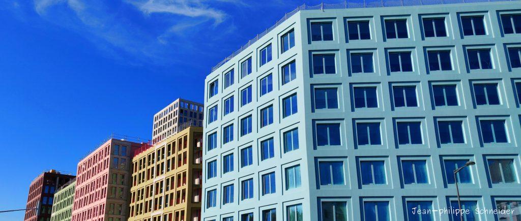 Architecture colorée, à Strasbourg