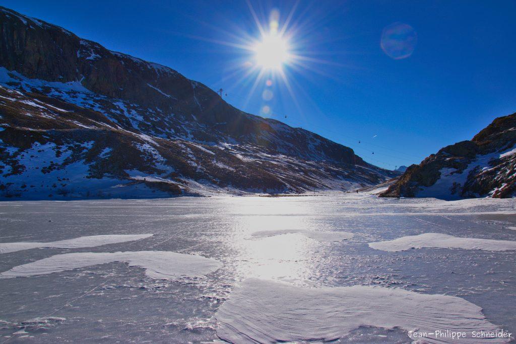 Lac gelé, Alpe d'Huez