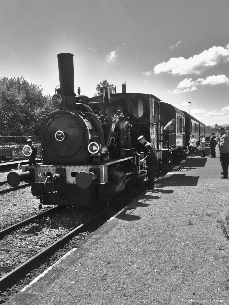Ancien train à vapeur, Volgelsheim